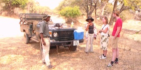 Game drive & Walking safari